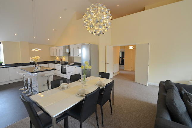 A rare gem hidden within the hustle and bustle of Nottingham's vibrant city centre. This immaculately presented four double bedroom penthouse apartment located in the highly sought after St Marys Court development. Benefiting from 1900 sqft of space including four bedrooms and four bath / shower rooms.