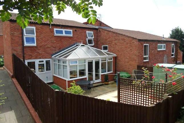 This end terraced house is situated in a cul de sac position upon this popular residential development and has been much improved and well cared for by the current owners. The accommodation comprises of an L shaped lounge / diner, kitchen and conservatory to the ground floor, three bedrooms and bathroom with underfloor heating to the first floor. The property benefits further from a gas central heating system and double glazing. Viewing recommended. No Upward Chain. Epc band tbc.