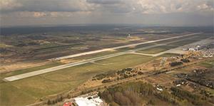 Katowice new runway