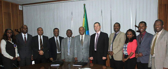 Ethiopian Airlines and Clive Jones