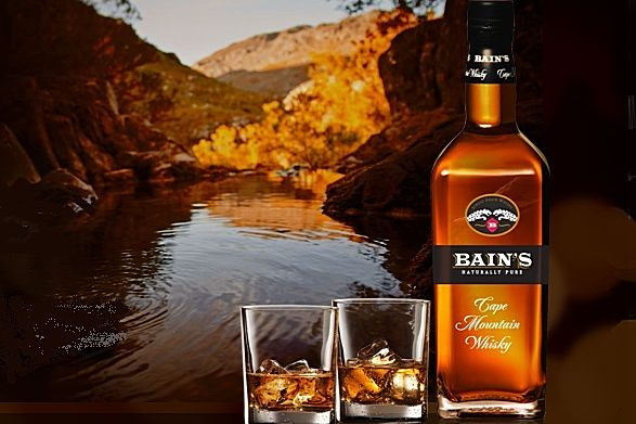 Tourvest debuts bain s whisky on african airlines travel for Bain s cape mountain whisky