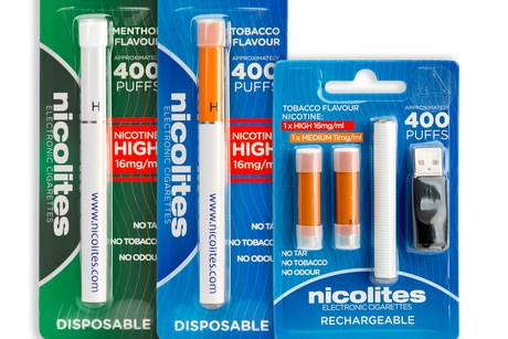E cigarette starter kit with nicotine Australia