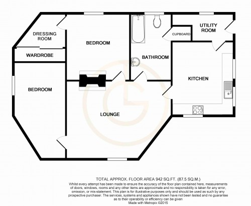 The Roundhouse - 2D Floor Plan