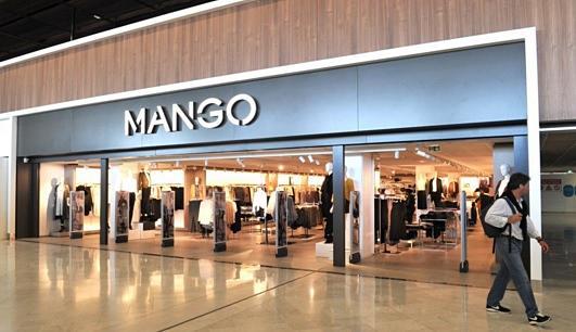 Mango clothing store locator