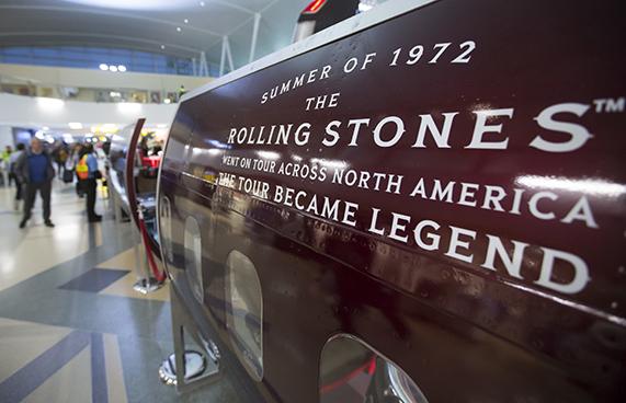 Cuervo Rolling Stones 'tour pop up' in JFK T4 | Travel