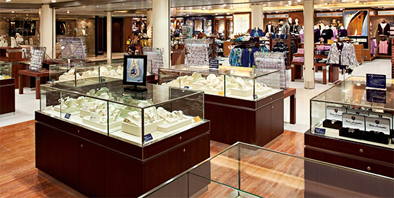 Big New Cruise Ships And Duty Free Shop Concepts Travel Retail - Cruise ship shops