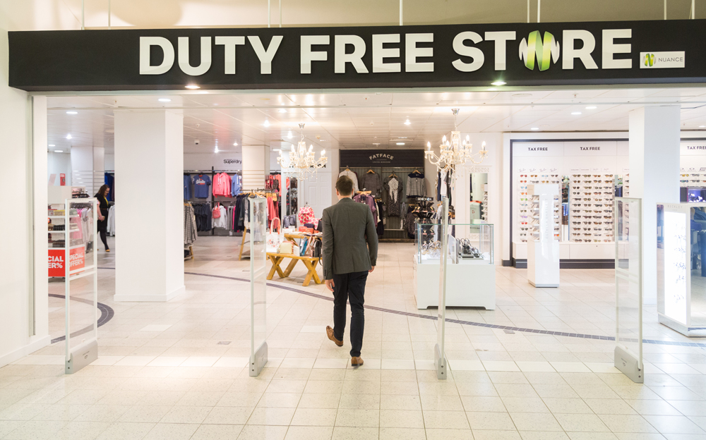 Nuance 'transforms' Cardiff duty free store | Travel ...