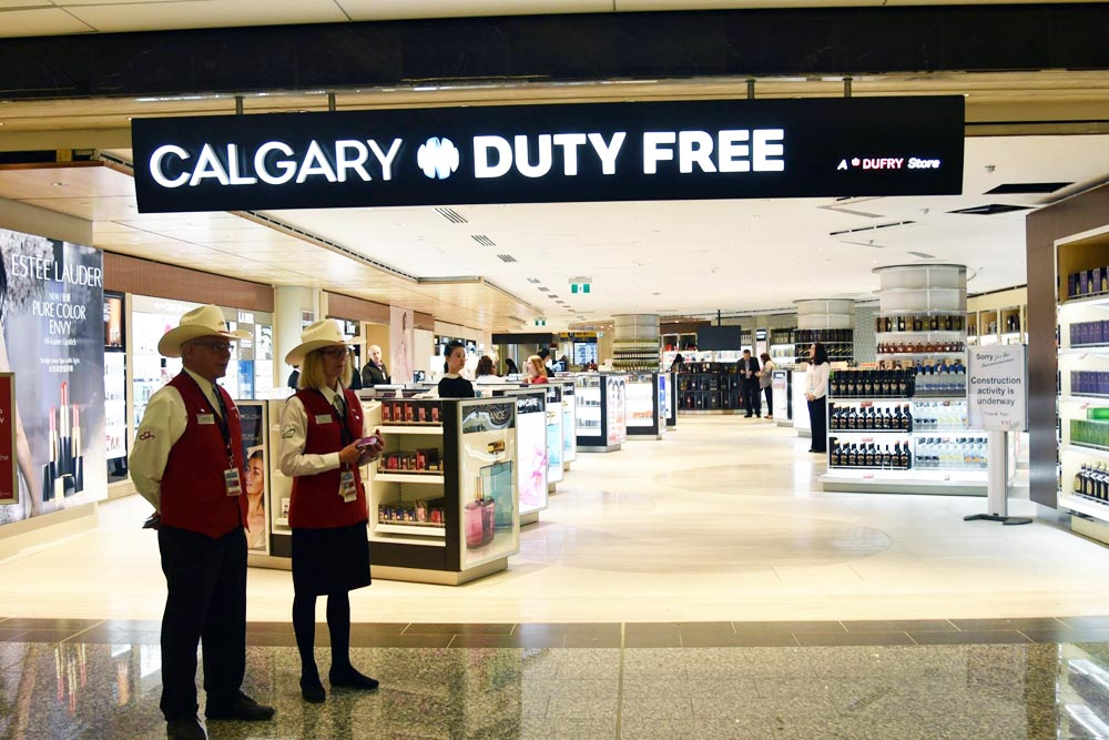 Calgary Airport opens 50 new retail spots at new terminal ...