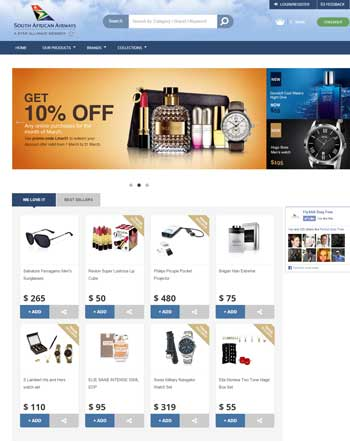 Fresh new look for SAA's online duty free shop | Travel