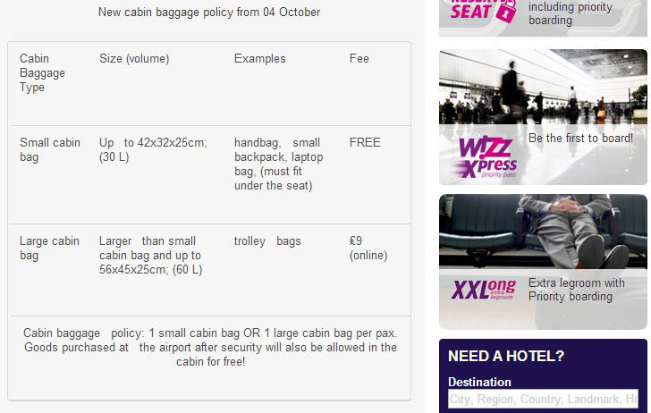 Wizz Air Defines Its Carry On Duty Free Policy Travel Retail Business