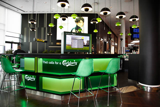 CPH Airport opens Carlsberg bar for Euro 2012   Travel Retail Business
