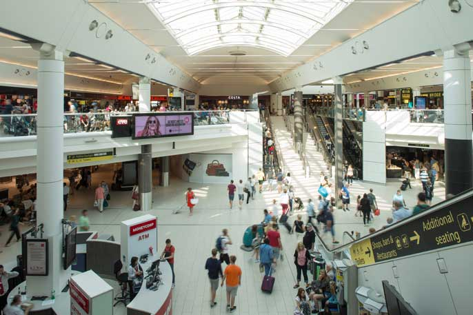 """219453e3e Net retail income per passenger increased by +0.8% to £3.57 which Gatwick  Airport says was """"despite a 2.5% reduction in retail space and ongoing  disruption"""" ..."""
