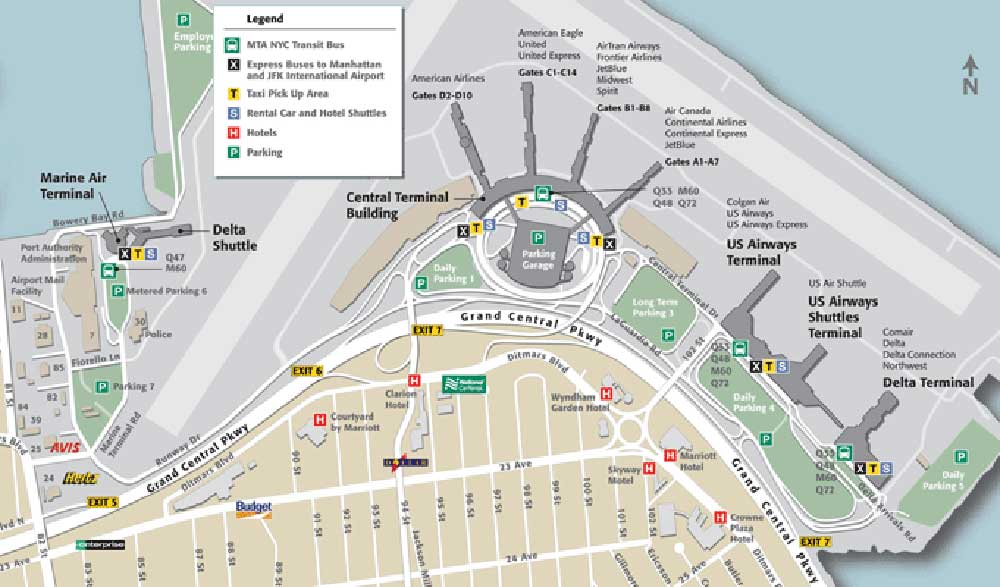 Major laguardia retail plan nears completion travel retail business map publicscrutiny Gallery