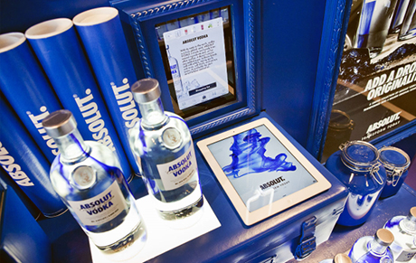 Absolut releases dazzling limited-edition electrik bottles to.