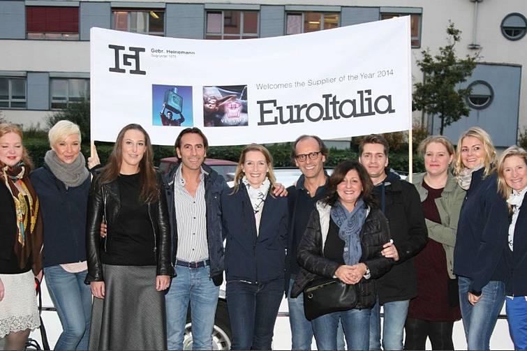 Versace and Moschino fragrance supplier Euroitalia honoured by Gebr. Heinemann | Travel Retail Business