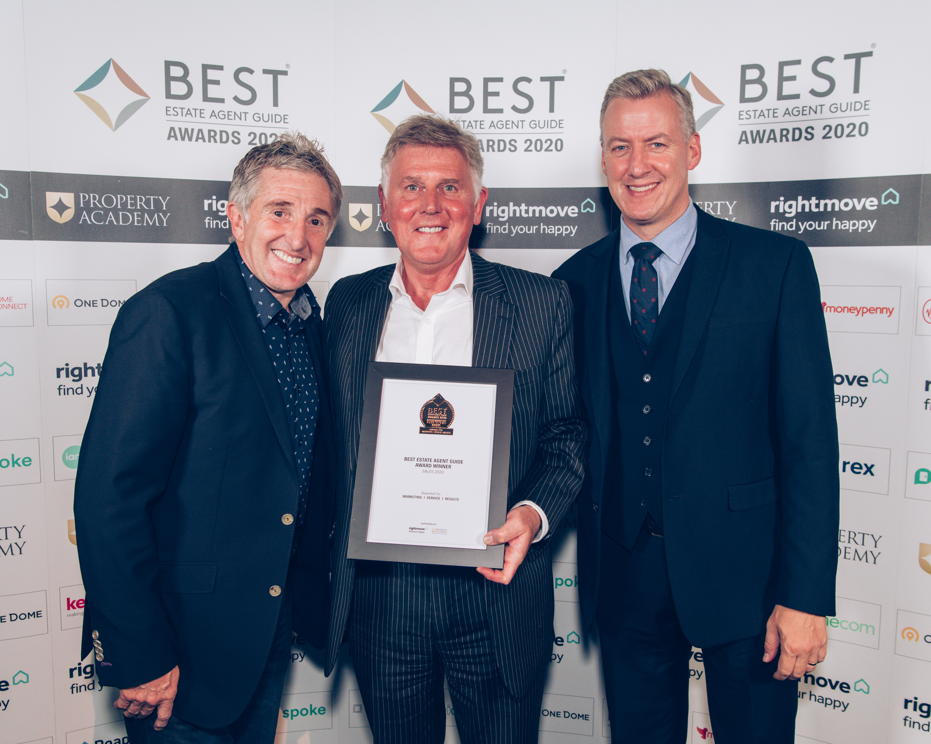 It's official –Wilkinson Grant & Co  is one of the very best Estate Agents in the country!