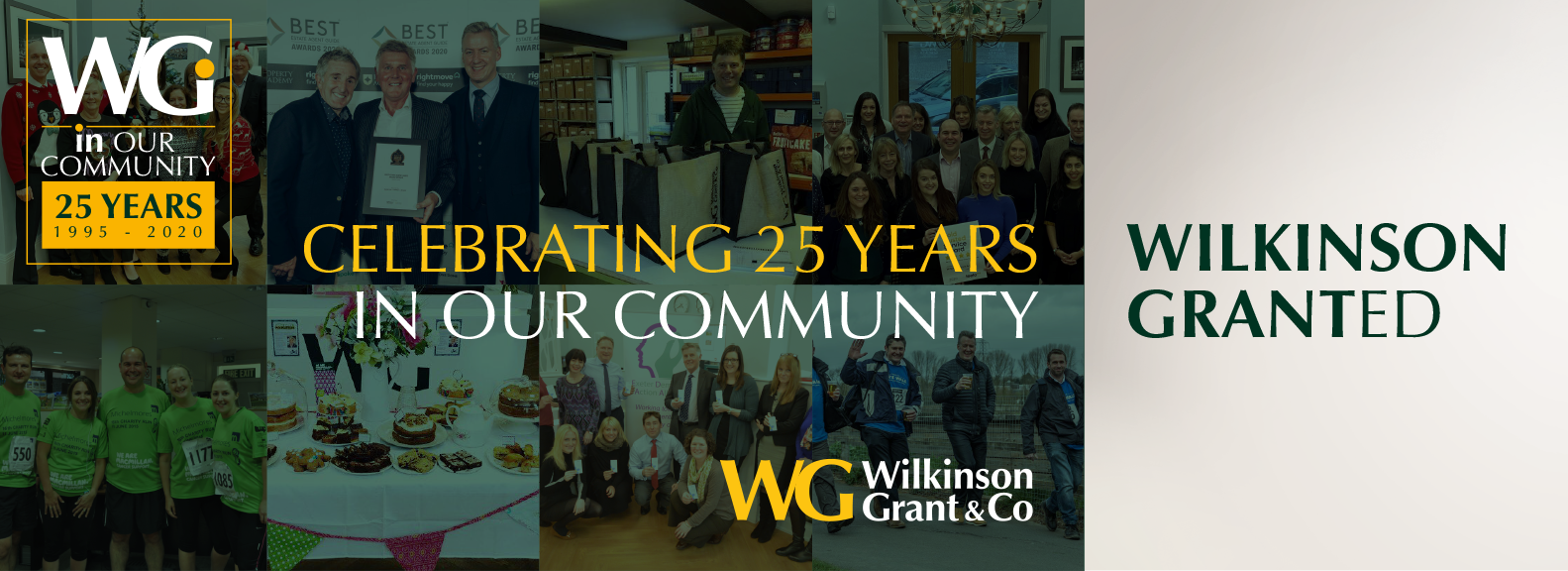 25 Years IN OUR COMMUNITY WILKINSON GRANTED